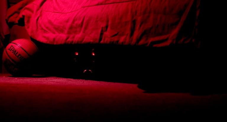 Monstruo bajo la cama opina que ya es hora de pasar aspiradora