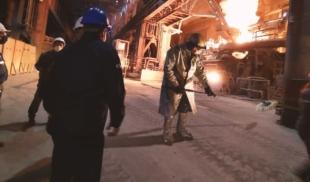 Baja producción de Sidor permite recoger el derrame con un coleto