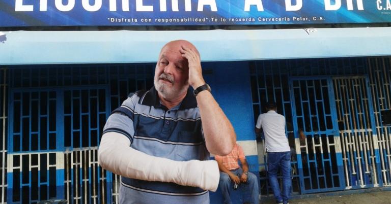 Jugador de dominó entra a lista de lesionados por accidente en lanzamiento de cochina