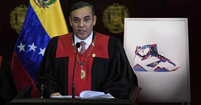 TSJ pide la extradición de unas Air Jordan de la talla de Maikel Moreno