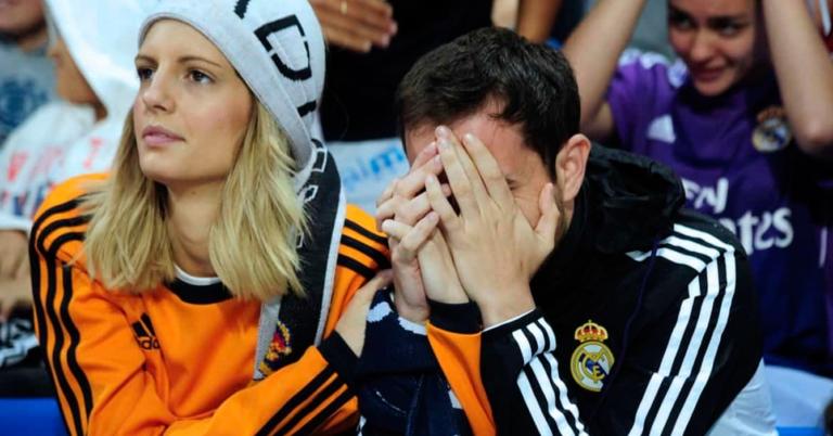 """Fanático rompe en llanto tras eliminación del Madrid en """"la copa que ha perdido interés"""
