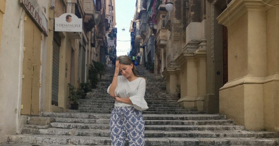 Venezolana que emigró a Malta triste porque su nuevo país no tiene la Energía Natural y Full Sabor que imaginó