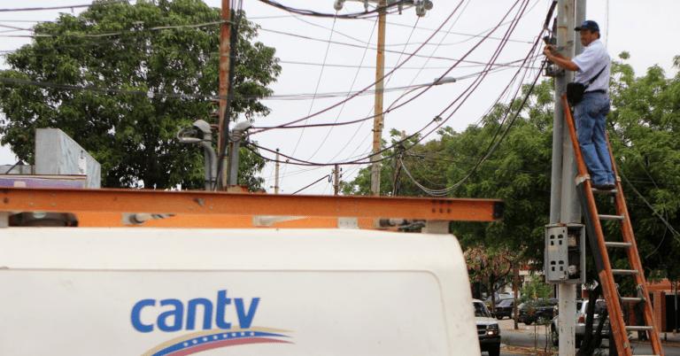 CANTV aumenta sus precios para decirte con mayor eficiencia que se robaron los cables