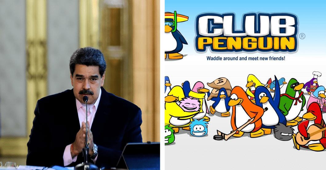 Maduro exige a la comunidad internacional desbloquear su cuenta de Club Penguin