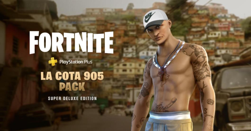 Fortnite estrena nuevo skin de El Coqui