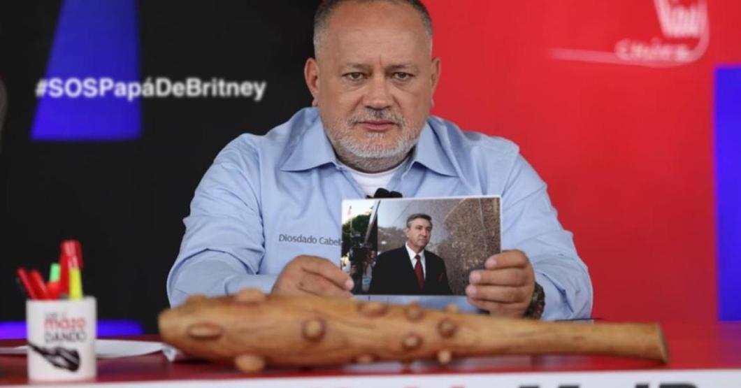 Diosdado manda palabras de aliento al papá de Britney