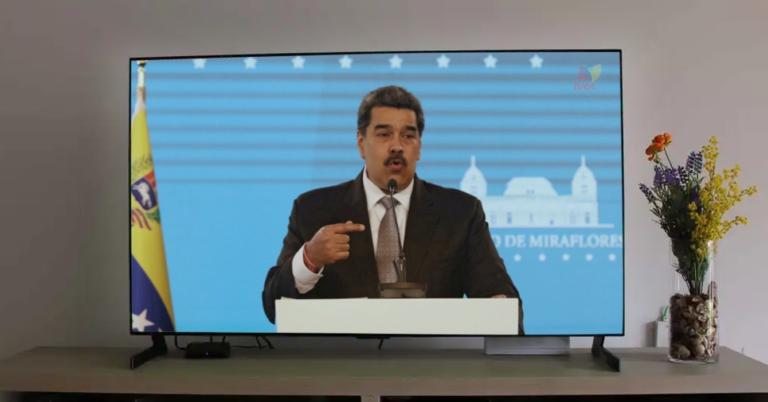 Maduro interrumpe transmisión de Loki por TVES para avisar que por el bloqueo no podemos ver los Juegos Olímpicos