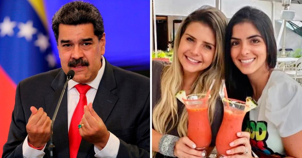 Maduro pregunta a las hermanas Schwarzgruber si harán un concurso para ganar vacunas