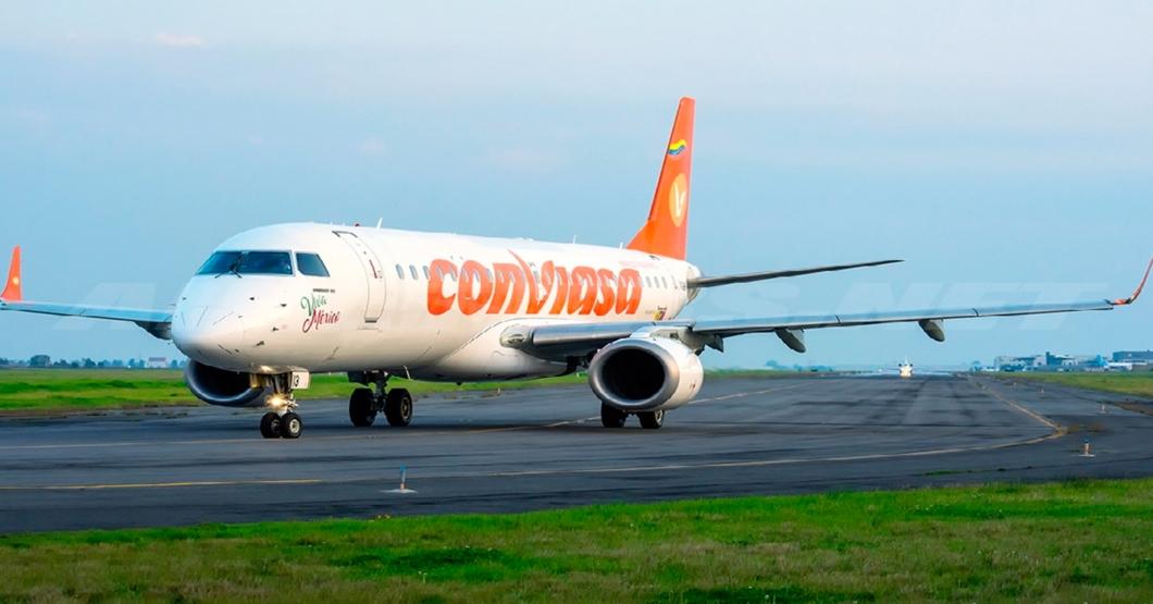 Para variar su manera de joderte, Conviasa adelanta sus vuelos 4 horas y no te avisa