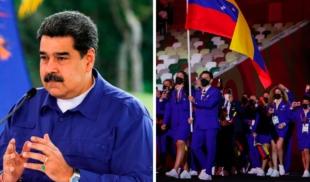 Maduro le pide a delegación olímpica que no gane más porque se le acabaron las casas para regalar