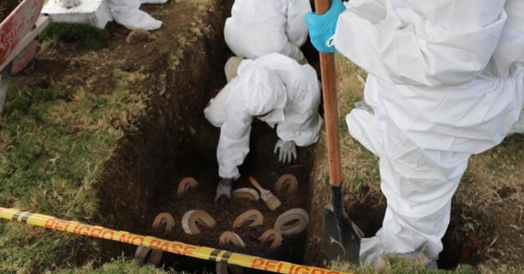 Descubren fosa común con restos de más de cien ceros en bóveda del BCV