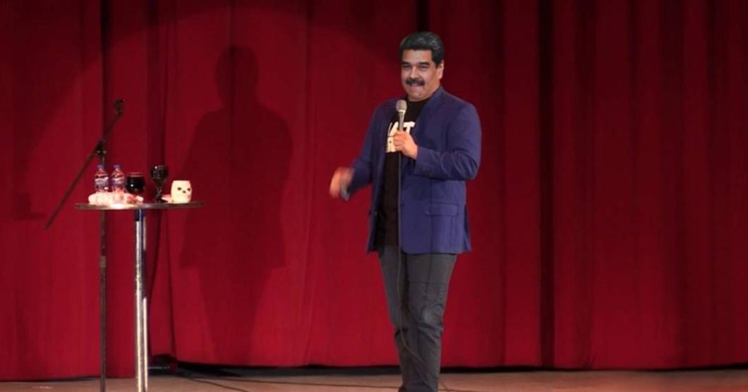 Maduro aprovechará diálogo con la oposición para probar sus nuevos 5 minutos de stand up