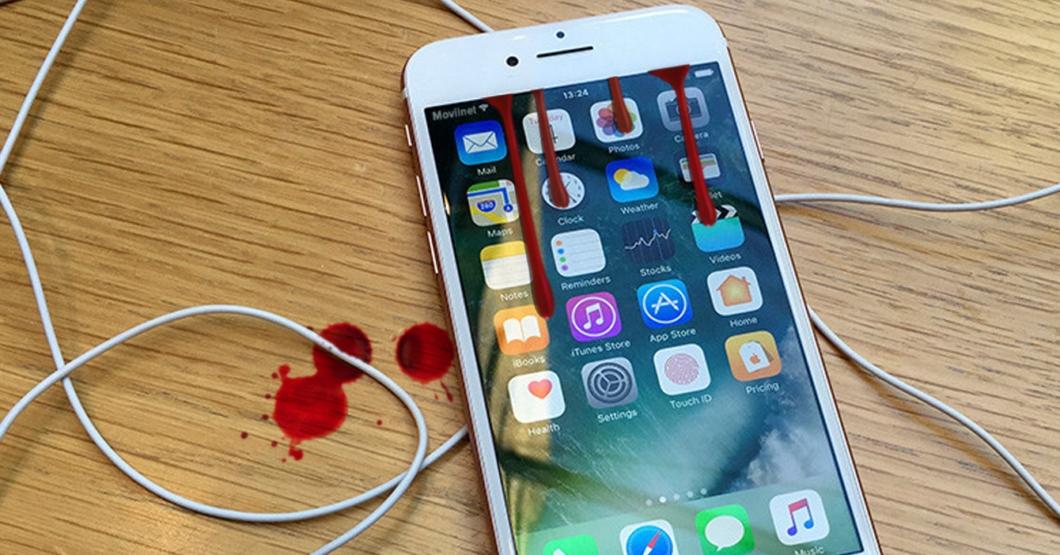 iPhone llora sangre luego de que le metieran un chip Movilnet