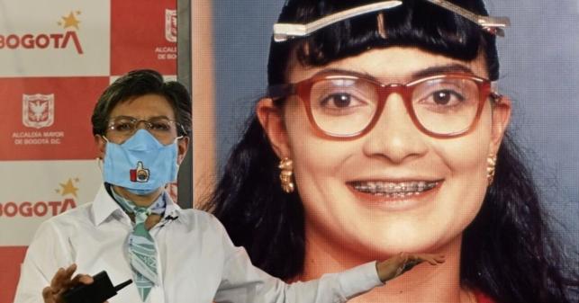 Alcaldesa de Bogotá asegura que Betty dejó a Don Armando por culpa de un venezolano