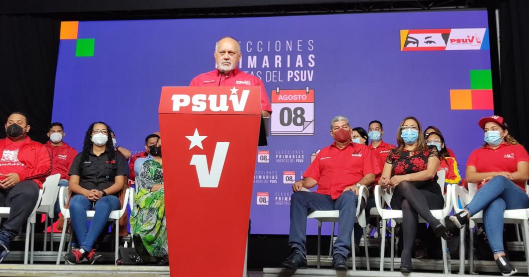 Candidato del PSUV con 8 billones de votos robados pierde ante su contrincante que robó ∞ votos