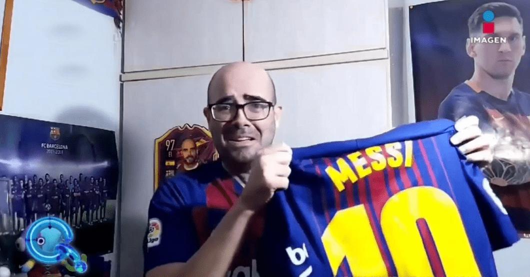 """""""Hoy es el peor día de mi vida"""" dice fanático del Barcelona que ayer descubrió a su pareja montándole cachos"""