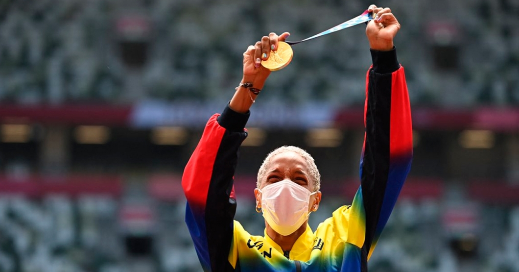 Medalla de Yulimar Rojas se convierte en todas las reservas de oro del BCV