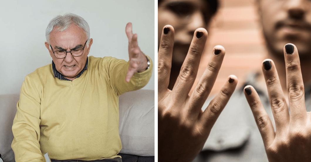 """""""Esta generación de cristal se ofende por todo"""", dice señor que se molestó por chamo que tiene las uñas pintadas"""