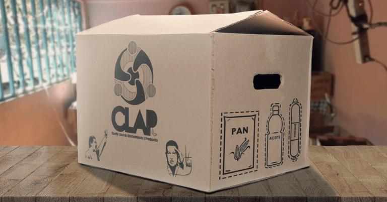 Gobierno envía Caja Clap con dibujos para que recortes tu propia comida