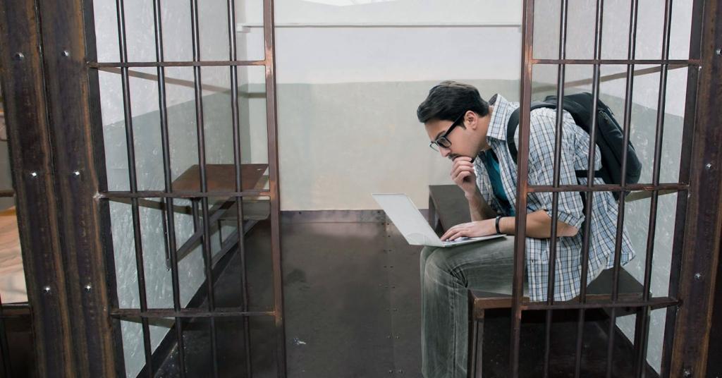 Estudiante de comunicación hace pasantías en El Helicoide