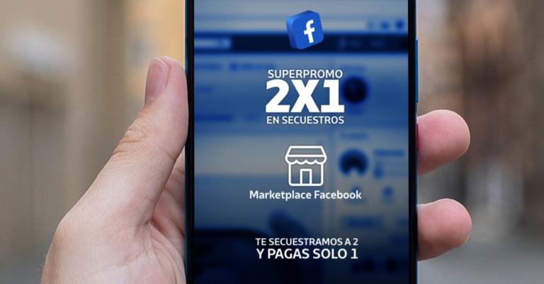 Facebook Marketplace anuncia 2x1 en secuestros